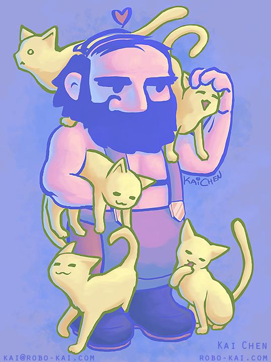 Dwarves Love Cats