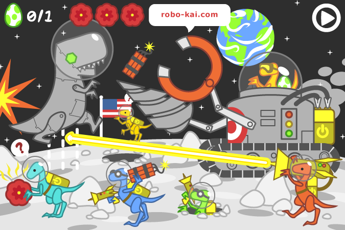 ROBOT-REX: Moon Base (Moon Boss)