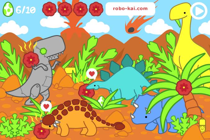 ROBOT-REX: Side-Scrolling Dino Brawler